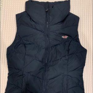 Hollister Black Vest Size S